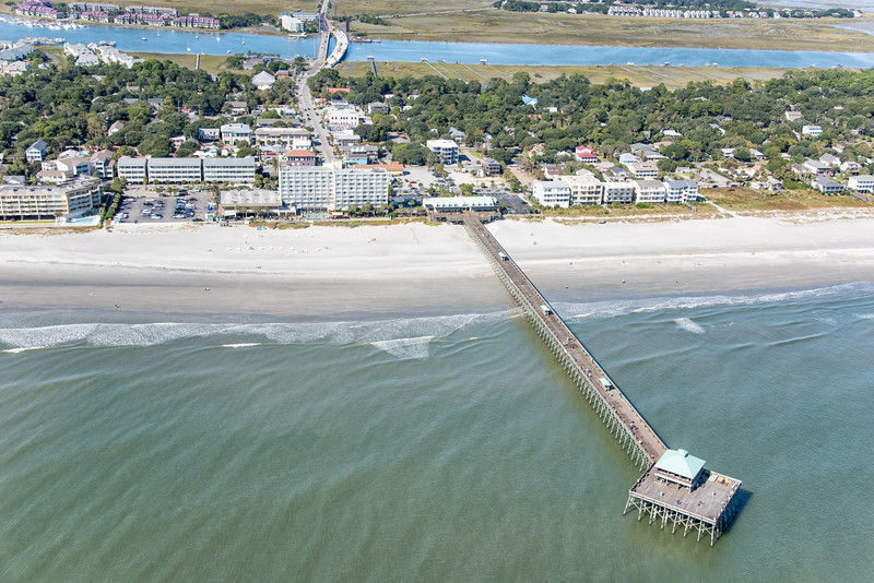 The Tides and the Folly Beach Fishing Pier