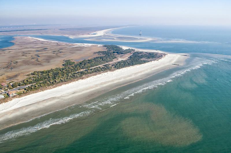 Folly Beach and Morris Island
