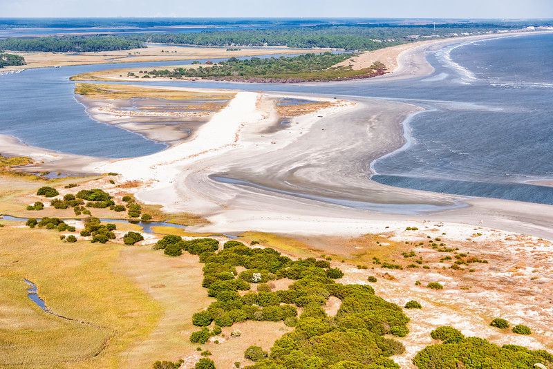 Captain Sam's Inlet and Spit, Kiawah Island, SC