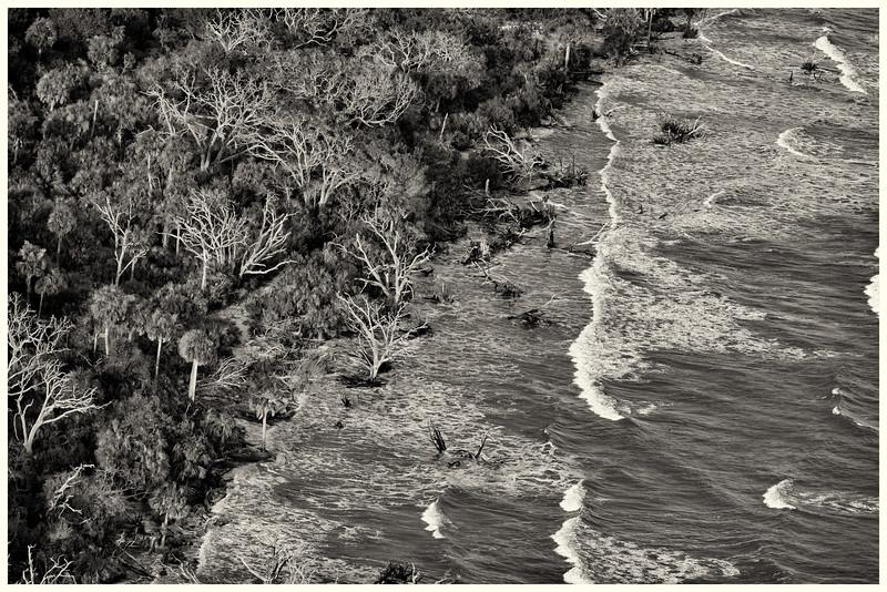 Botany Bay Beach Sepia