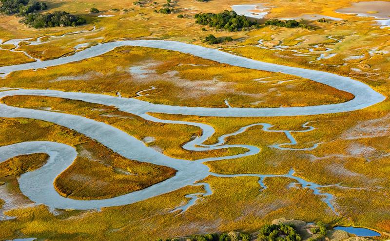 Kiawah Marshes and Creeks