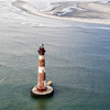 Morris Island Lighthouse and Folly Beach, SC