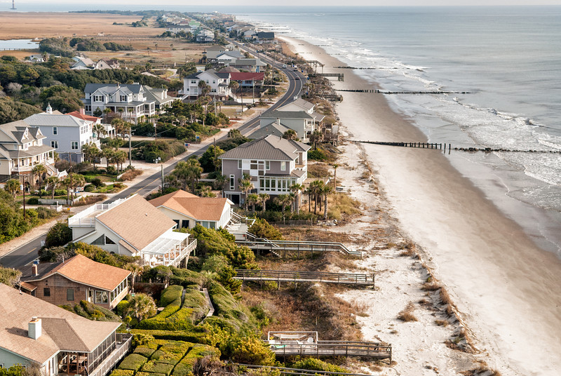 Residential and Vacation properties, Folly Island