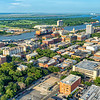 Downtown Savannah and Shipping on the Savannah River