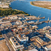 Detyens Shipyards on the Cooper River, North Charleston