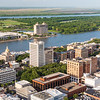Riverfront, the Savannah Convention Center, and the The Westin Savannah Harbor Golf Resort