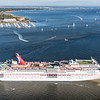 Carnival Cruise Ship Ecstasy Leaving Charleston