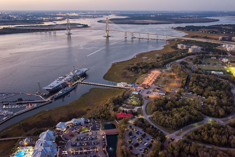 Patriots Point and the Cooper River