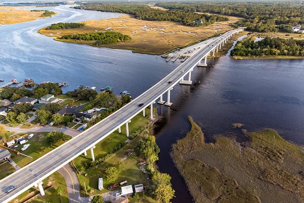 The Limehouse Bridge & Stono River