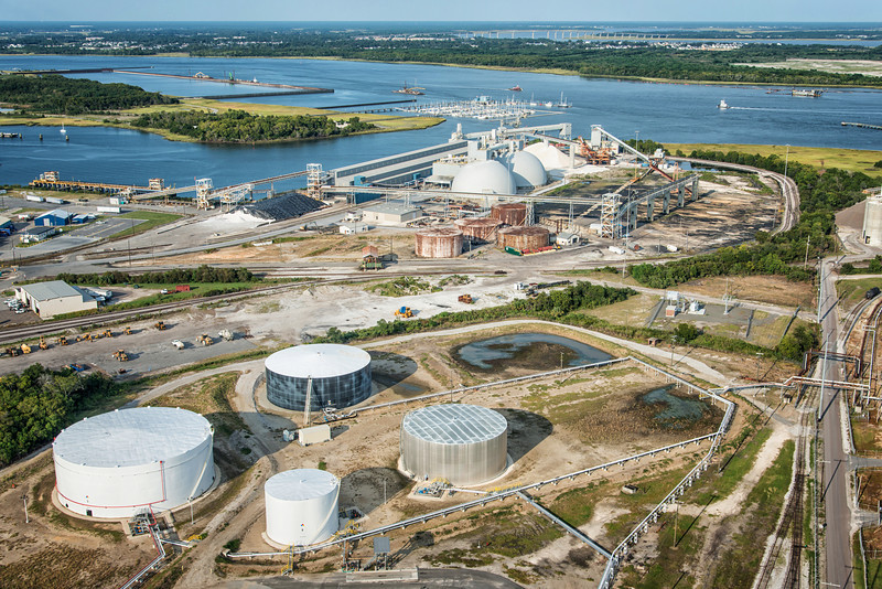 Allied Terminals, Kinder Morgan and Cooper River Marina