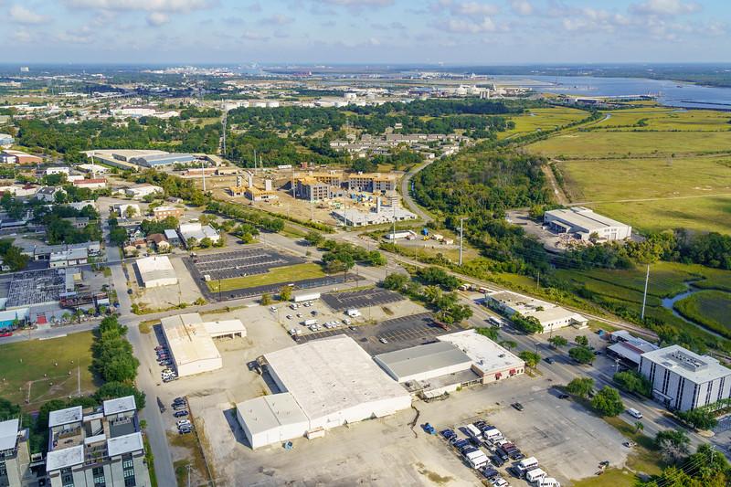 New development on Upper King, Charleston Neck