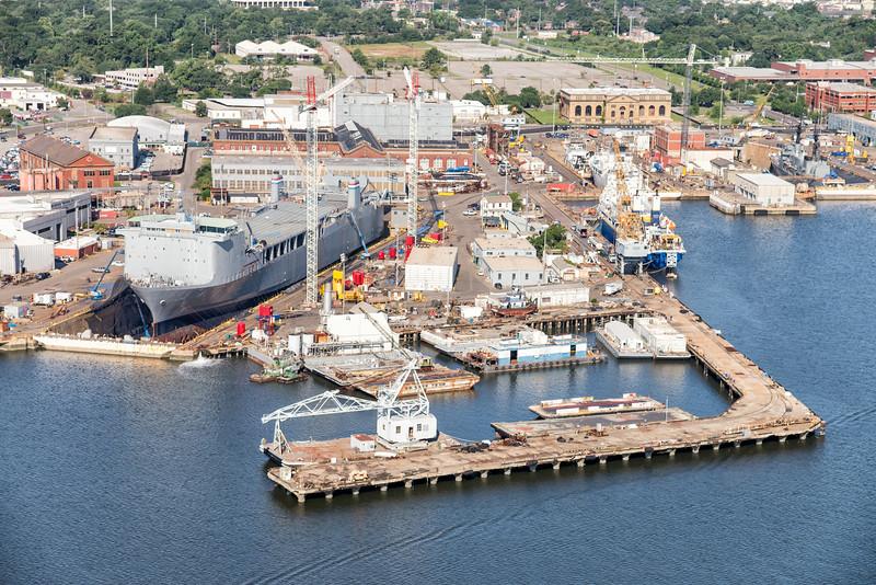 Detyens Shipyards, Navy Yard at Noisette, North Charleston, SC