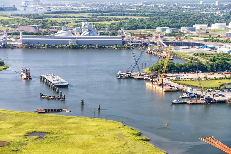 Salmon's Dredging, Shipyard Creek, North Charleston