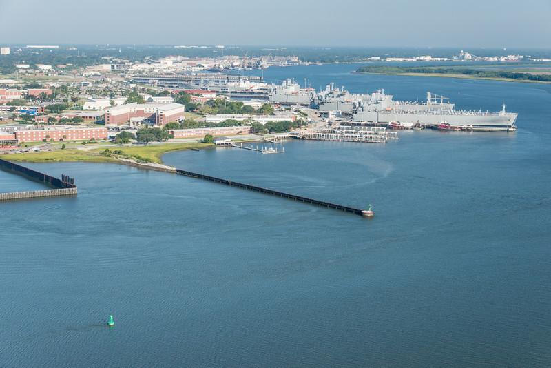 GSA Fast-Ready Fleet, old Navy Shipyard, and Detyens Shipyard