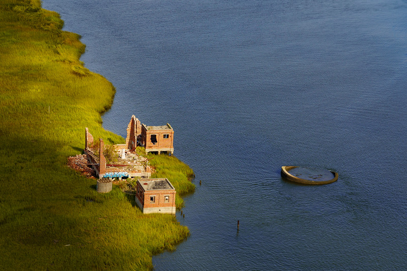 Brick Ruins, Laurel Island, Cooper River