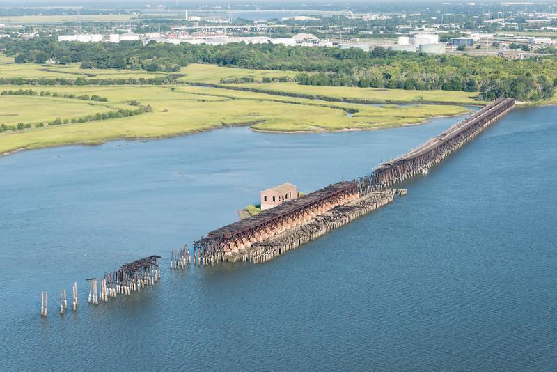 Old Coal Tipple, Cooper River, Charleston, SC