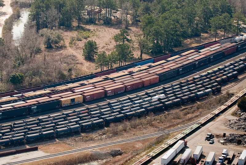 Rail transport system North Charleston