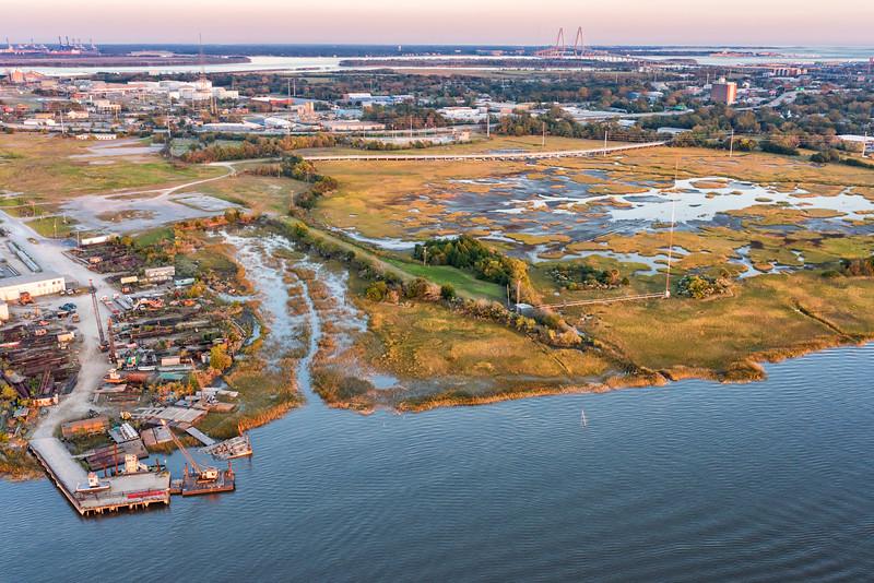 Parker Marine, Magnolia Tract Project, Charleston Neck area