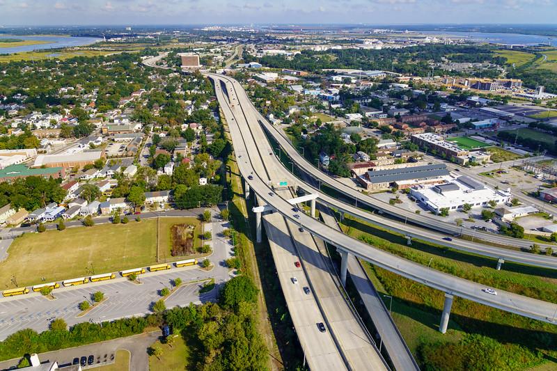 I-26 Freeway, Charleston Neck