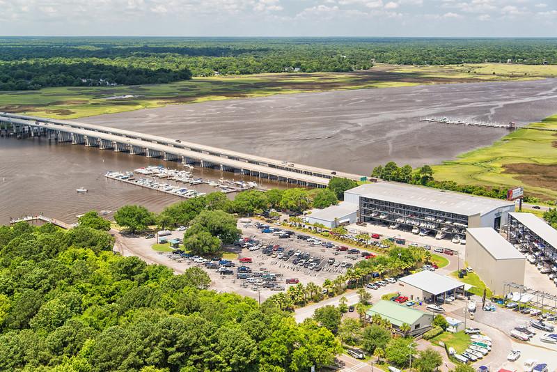 RiversEdge Marina on the Ashley River