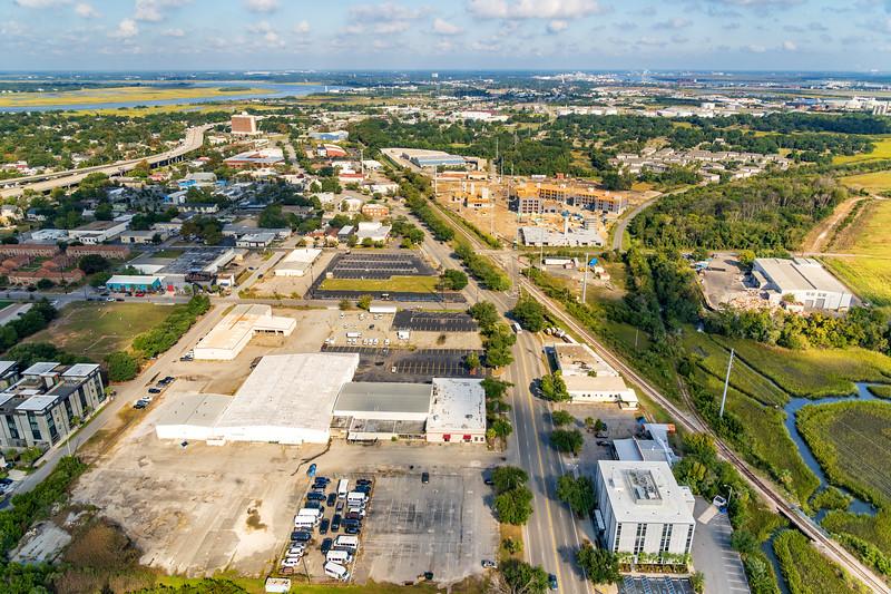 Charleston Neck Area, new construction