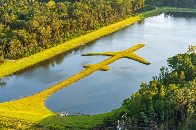 Retention Pond at Boeing South Carolina