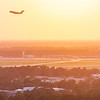 Take off from Charleston International Airport