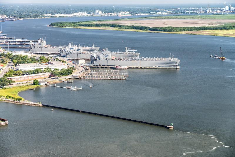 Ready Reserve Fleet, Cooper River, North Charleston, SC