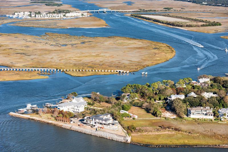 Sullivan's Island, ICW and Ben Sawyer Bridge