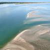 Shifting sandbars at Cape Lookout, OBX