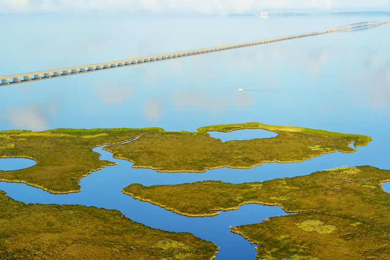 Virginia Dare Memorial Bridge, Croatan Sound