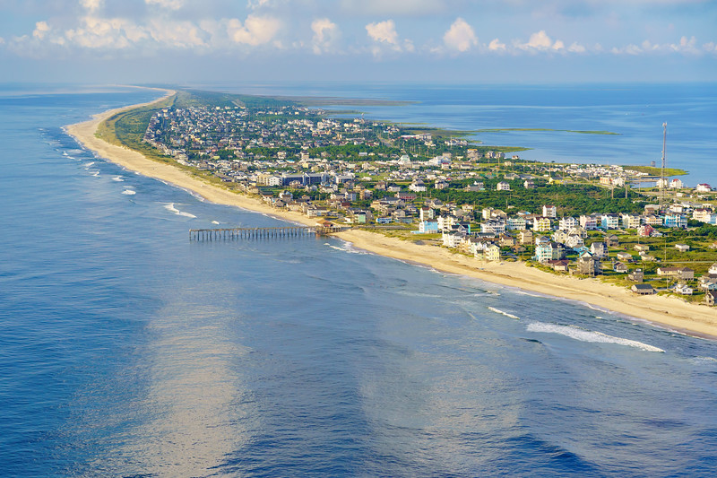Fishing Pier and Rodanthe, Outer Banks NC