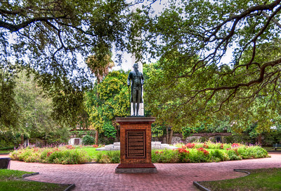 park-statue-george-washington