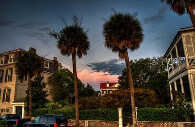 palm-trees-sunrise