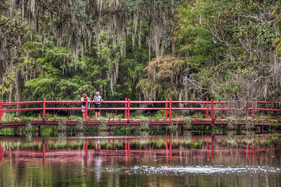 red-bridge-pond-women