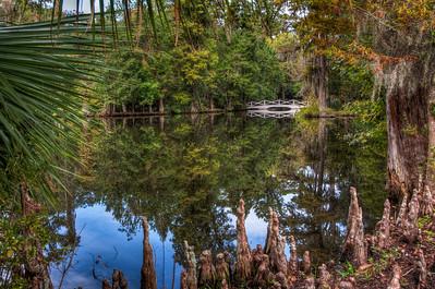 pond-bridge-reflection