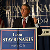 Rep. Leon Stavrinakis lost to John Tecklenburg in the mayor's race. Stavrinakis received 9,986 votes or 42.5% of the total votes. (Photo/Liz Segrist)