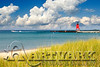 Red Lighthouse beach grass
