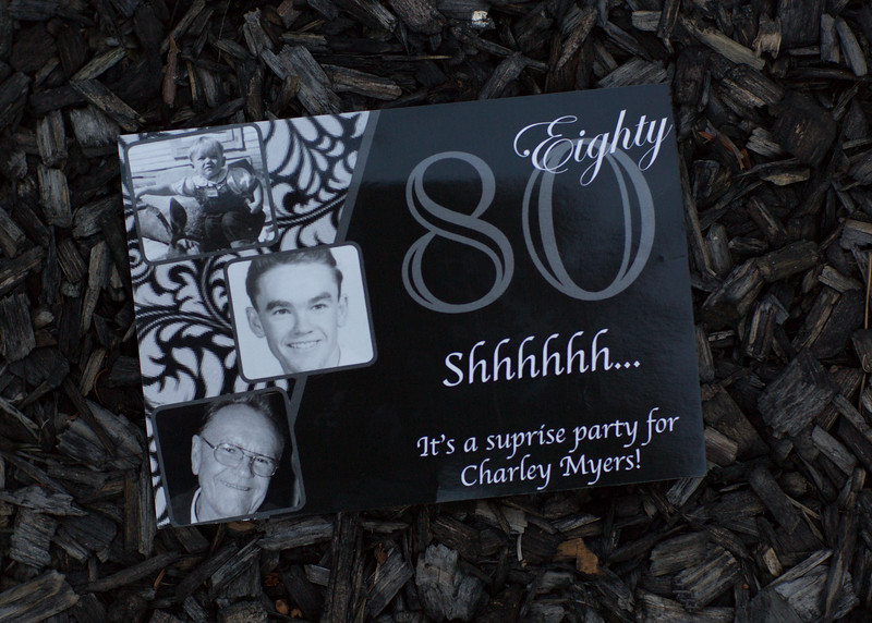 Charley's 80th Birthday