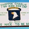 entrance to Charlie Company
