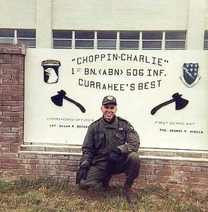 Ft Campbell December 1967 before deployment