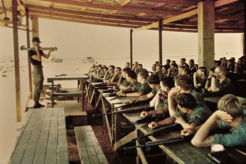 Initial training near Bien Hoa Oct/Nov 1969