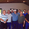 Caroll Shiltz, Phil Stanley, Jeff Burke (back), Gary Tarpein, Bobby Powers (back), Jim Lee, Herb Damsteegt, Doug Sample.