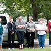 l to r: Donna Sample, Linda Damsteegt, Carol Burns, Renee Lee, Bonnie Buress, and Rose Hinojosa (Dan's sister).