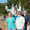 front: Donna Sample, Bonnie Buress.  back:  Linda Damsteegt and Renee Lee.