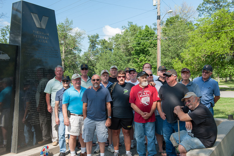 l to r:  Mike Ball, Tom Wild, Mike Redlin, Bill Clous, Sergio DeCarvalho, Steve Mounce, John Georgiton, Danny Richard, Steve Lewis, Robert Hickman, Clement Dombrowski, Jerry Brenke, Jerry McGee, Matthew Budziszweski, Bill Baumberger, Dale Shatzberg, and Bruce Aaron