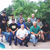 "in front Chuck Kerr and Steve ""Raider"" Smith, second row ""Spoon Whitaker, Little Tex"" Sonnier, Zippo, Jerry McGee, ""Budwieser,"" Chief Hamil (kneeling).<br /> standing: ""George of the Jungle,"" ""Pinky,"" MG Harrison, COL Mckenny."