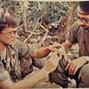 Mark Taylor (medic) and Ronald Krom July 70 near Bastogne - 111- CCV- 626 5th floor NARA