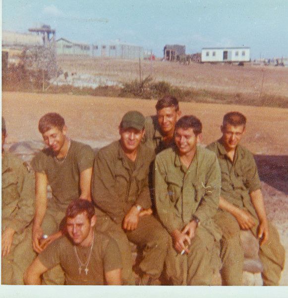 "Front - Gary Stacey.  Middle:  Gary Tarpein, Jim Lee, Jack Wells, and Phillip Stanley<br /> <br /> Bobby ""Alabama"" Powers in back."