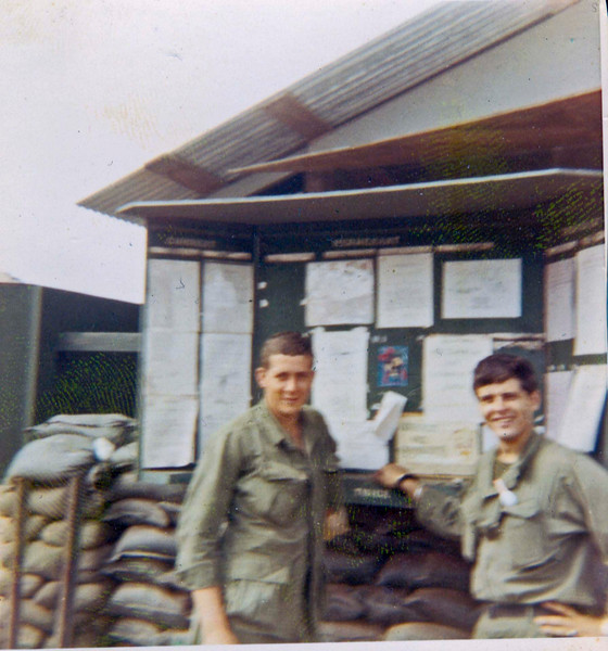 Lorne Trainor and Richard Kukucka, Jan 1970
